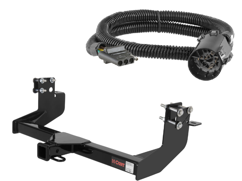 curt class 3 trailer hitch wiring for dodge sprinter. Black Bedroom Furniture Sets. Home Design Ideas