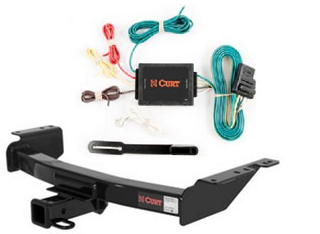 curt class 3 trailer hitch wiring for venture silhouette montana trans sport ebay