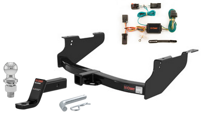 curt class 3 trailer hitch tow package for dodge ram 1500 2500 3500 ebay. Black Bedroom Furniture Sets. Home Design Ideas