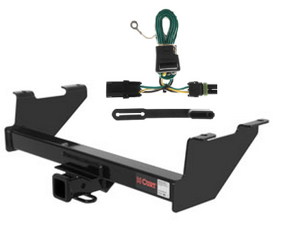 curt class 3 trailer hitch wiring kit for chevrolet. Black Bedroom Furniture Sets. Home Design Ideas