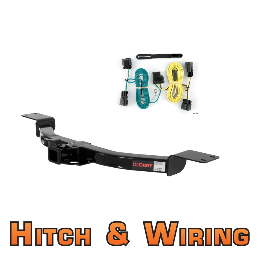curt class 3 trailer hitch wiring for buick enclave. Black Bedroom Furniture Sets. Home Design Ideas