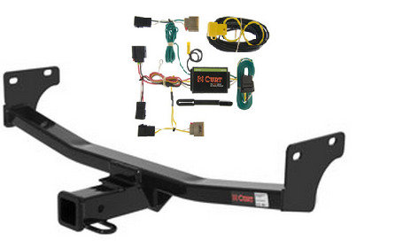 curt class 3 trailer hitch wiring kit for jeep compass. Black Bedroom Furniture Sets. Home Design Ideas