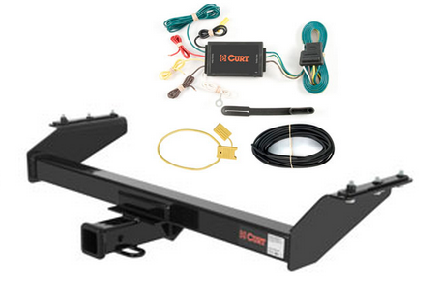 curt class 3 trailer hitch wiring kit for nissan frontier ebay. Black Bedroom Furniture Sets. Home Design Ideas