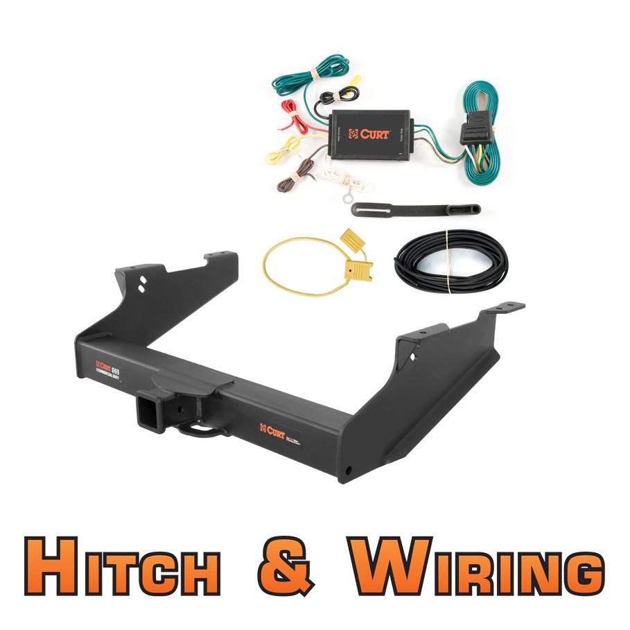 curt class 5 cd trailer hitch wiring for 2003 2005 dodge. Black Bedroom Furniture Sets. Home Design Ideas