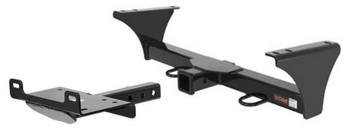 curt front mount trailer hitch winch mount plate for jeep liberty ebay. Black Bedroom Furniture Sets. Home Design Ideas