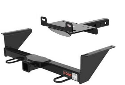 Curt Front Mount Trailer Hitch Amp Winch Mount Plate For