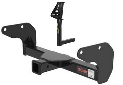 curt front mount trailer hitch spare tire mount for hummer h3 ebay. Black Bedroom Furniture Sets. Home Design Ideas