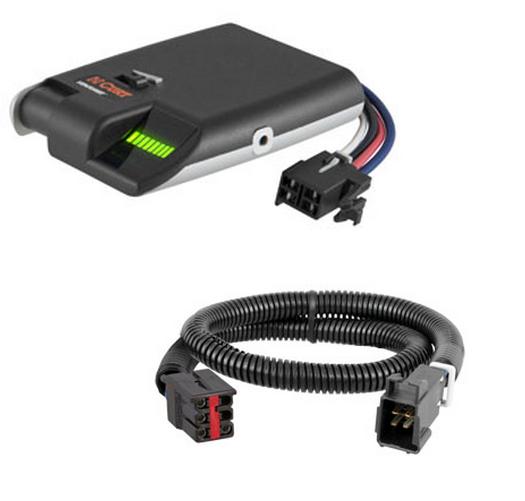 curt venturer brake control   wiring harness kit for ford