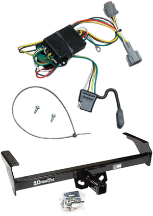 2005 nissan frontier trailer wiring nissan frontier trailer hitch wiring draw-tite class iii/iv trailer receiver hitch & wiring for ... #9