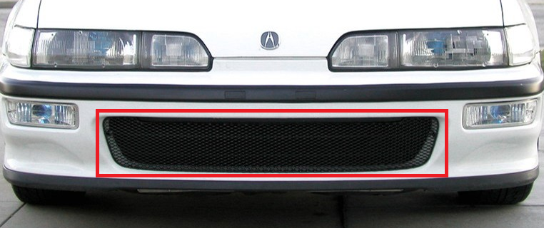 GRILLCRAFT ACU2100B Black MX Grille Lower Insert For 92 93 Acura