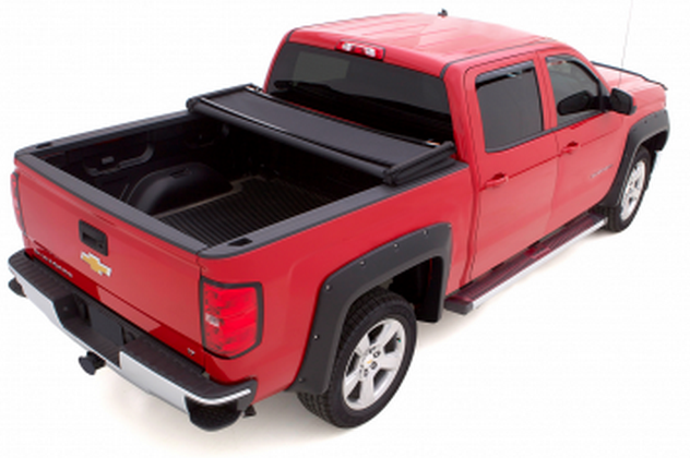 Lund 958172 Genesis Elite Tri Fold Tonneau Cover For Ford