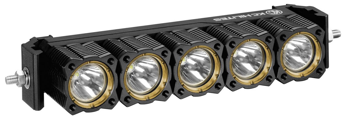kc hilites 273 single 10 flex array led light bar and. Black Bedroom Furniture Sets. Home Design Ideas