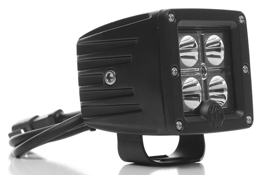 Fabulous Kc Hilites 330 Set Of 2 Clear 12W Led Spot Lights W Mounts Wiring Wiring Digital Resources Dylitashwinbiharinl
