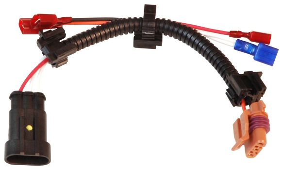 Msd 8877 Single Ignition Coil Connector Wiring Harness For