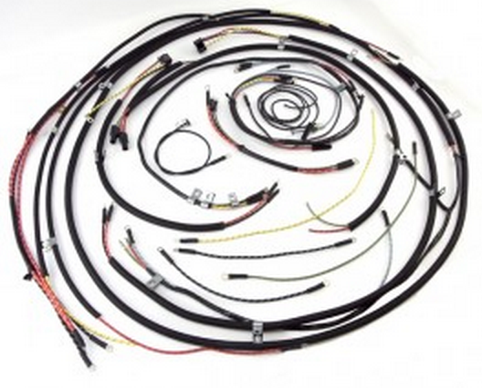 Omix Ada 17201 01 Horn On Firewall Complete Wiring Harness For 45 46