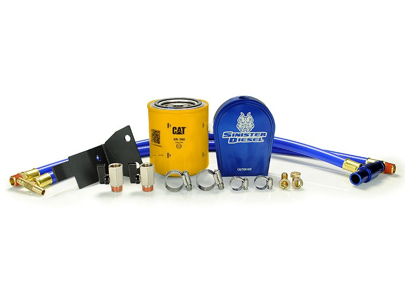 Sinister SD-COOLFIL-6.0-C Coolant Filtration System for 03-07 Ford F-250//F-350