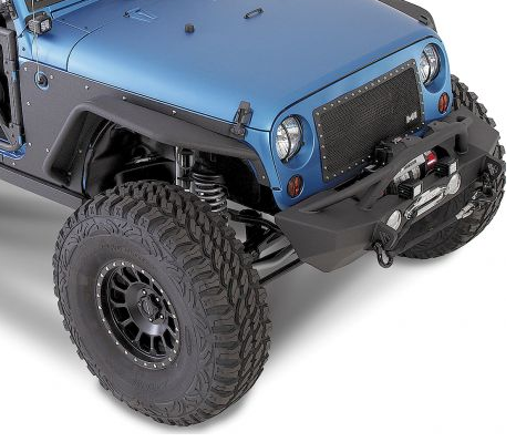 Smittybilt 76838 Front Xrc Flux Fender Flares For Jeep