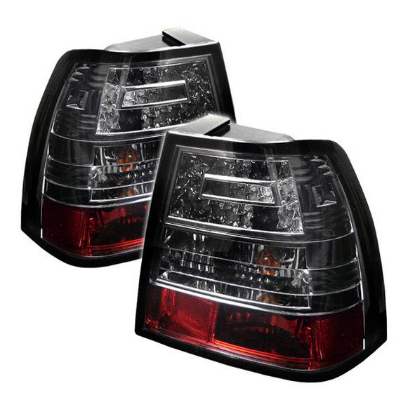 Spyder Auto 111-CCK88G2-BK Euro Style Tail Light