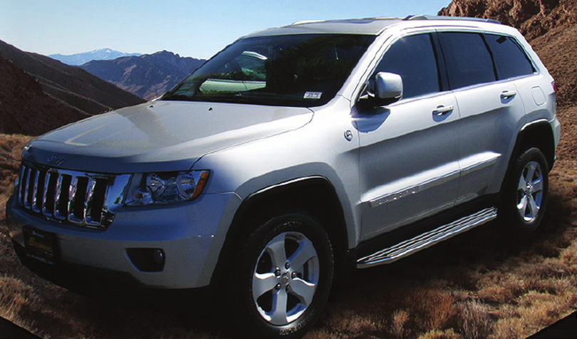 Steelcraft 123200 Polished Running Boards For Jeep Grand