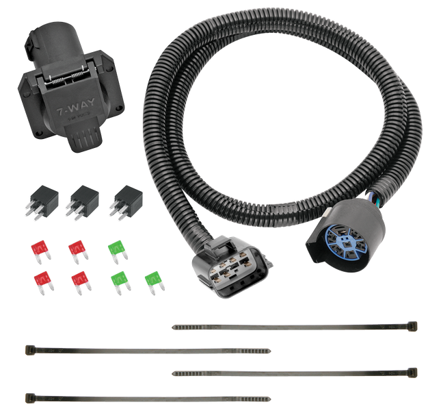details about tow ready 118271 replacement 7 way flat wiring harness for enclave traverse  tow ready wiring harness #7