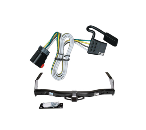 class 3 trailer hitch receiver & wiring package for dodge ... dodge ram 1500 trailer brake wiring diagram 1999 dodge ram 1500 trailer hitch wiring