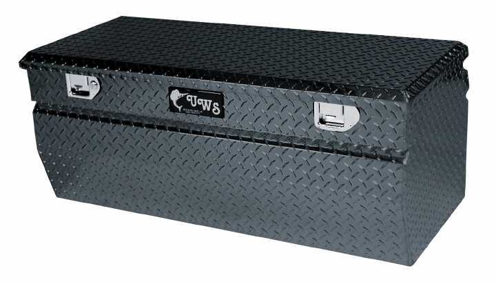 """UWS TBC-62-WN-BLK Black 62"""" Tool Box / Notched Chest Wedge ..."""