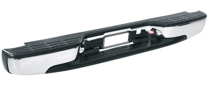 Westin 31007 Fey Perfect Match Chrome Rear Bumper For