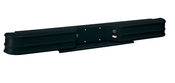 Westin 63000 Black Diamond Step Steel Rear Bumper For