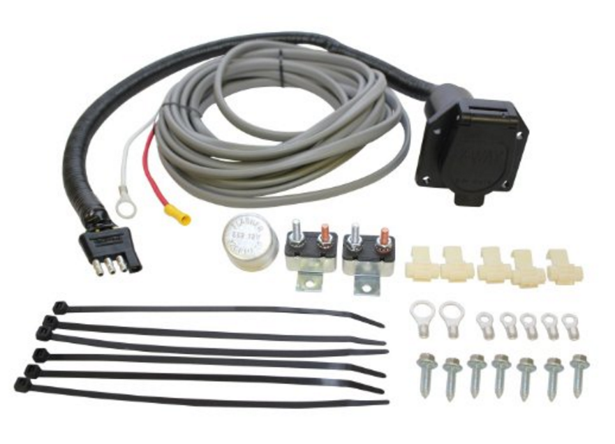 Equipment Trailer Wiring Harness : Westin brake control wiring harness kit w way