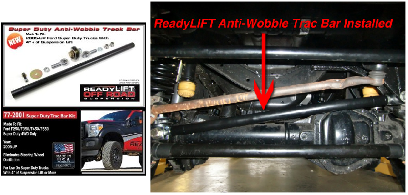 Readylift 77 2001 Anti Wobble Track Bar For F250 F350 F450
