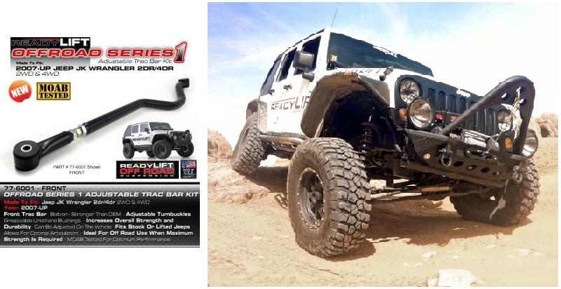 ReadyLift 77-6001 Front Adjustable Track Bar