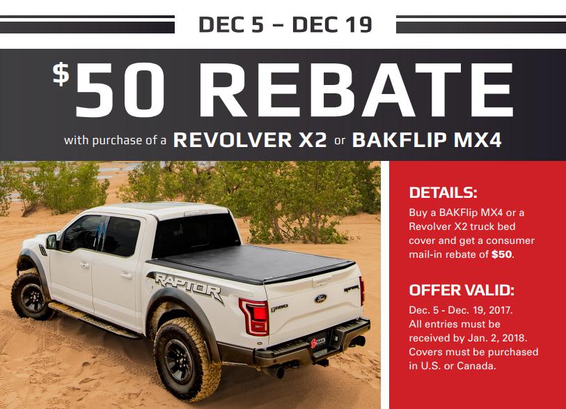 Bak Industries 39409 Black Revolver X2 Tonneau Cover For Toyota