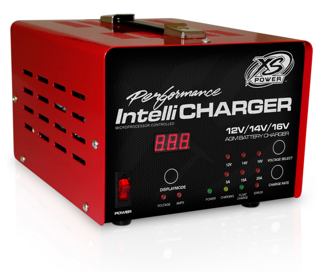 auto xs battery charger manual