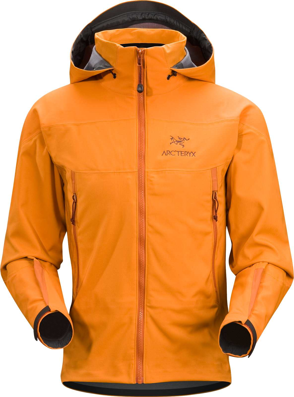 New Arc'Teryx Mens Venta SV Hooded Jacket , Copper, Medium, 6247