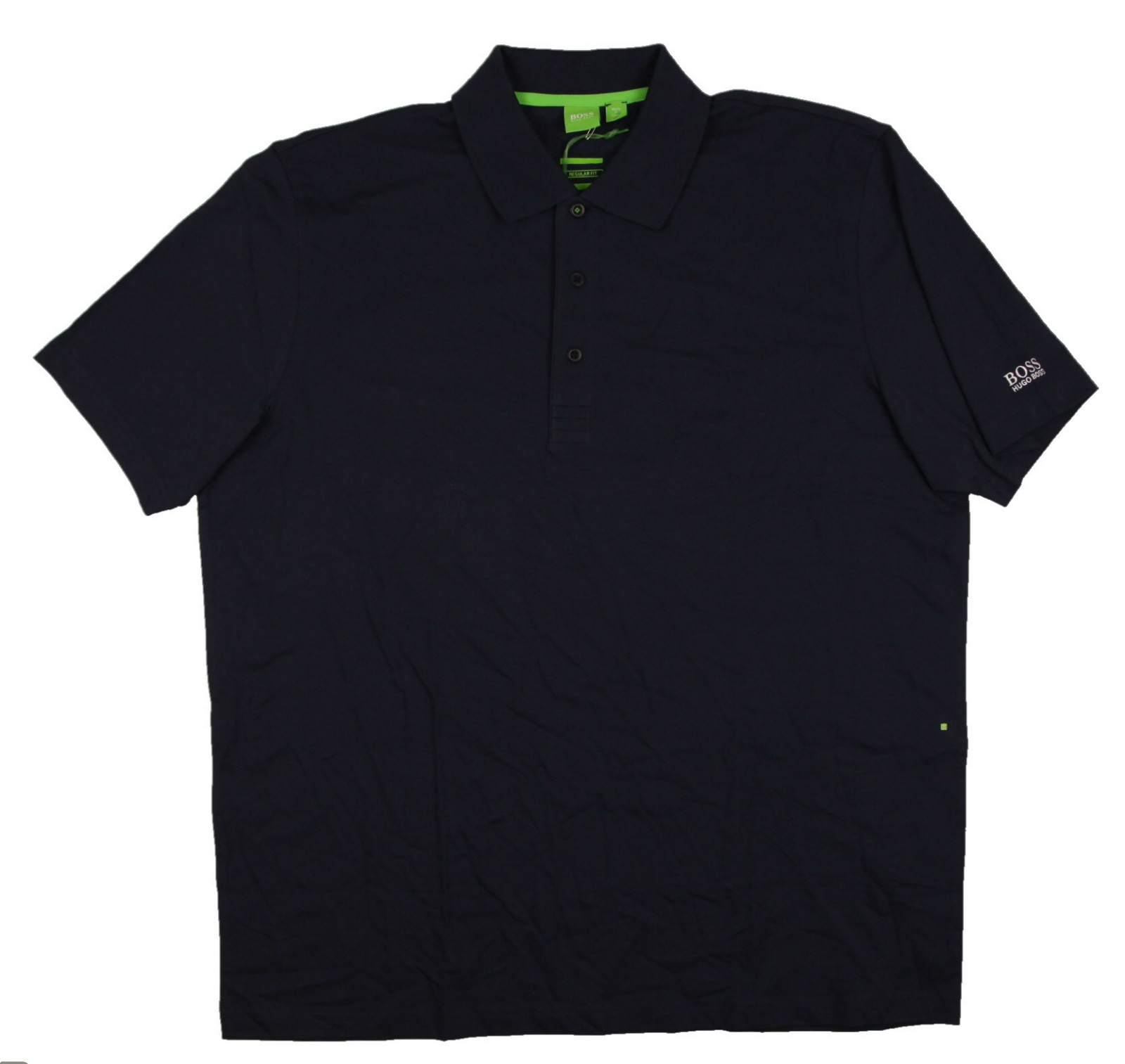 New men 39 s hugo boss regular fit short sleeve performance for Hugo boss polo shirts xxl