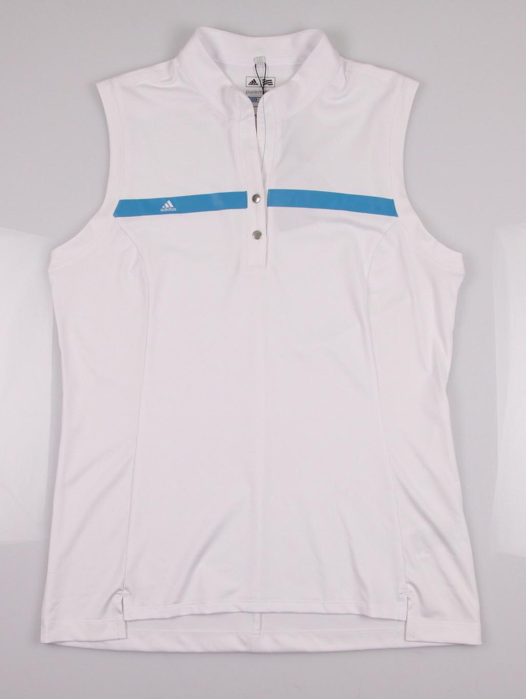 New Adidas Women 39 S Puremotion Sleeveless Mock Neck Golf