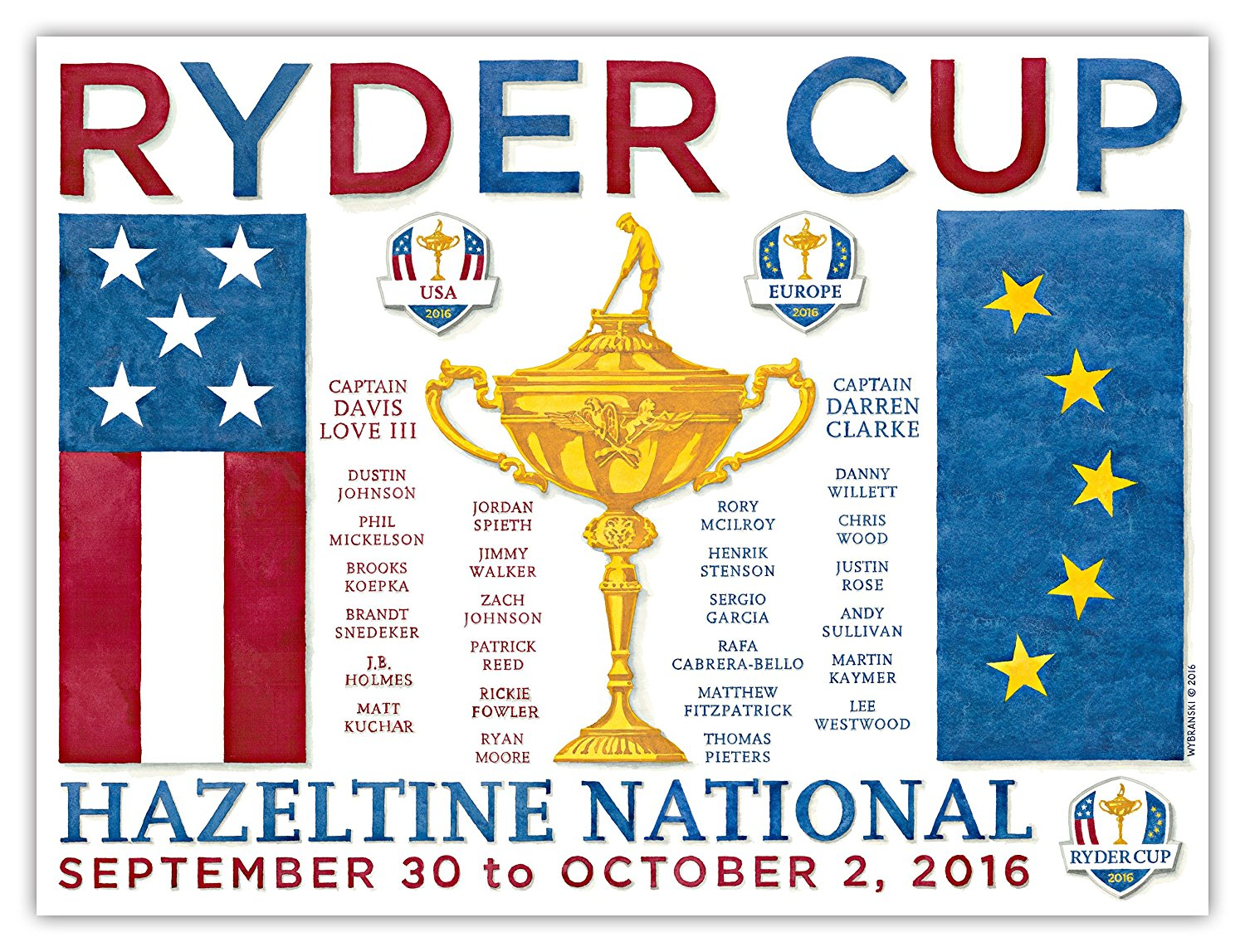 ryder cup roster