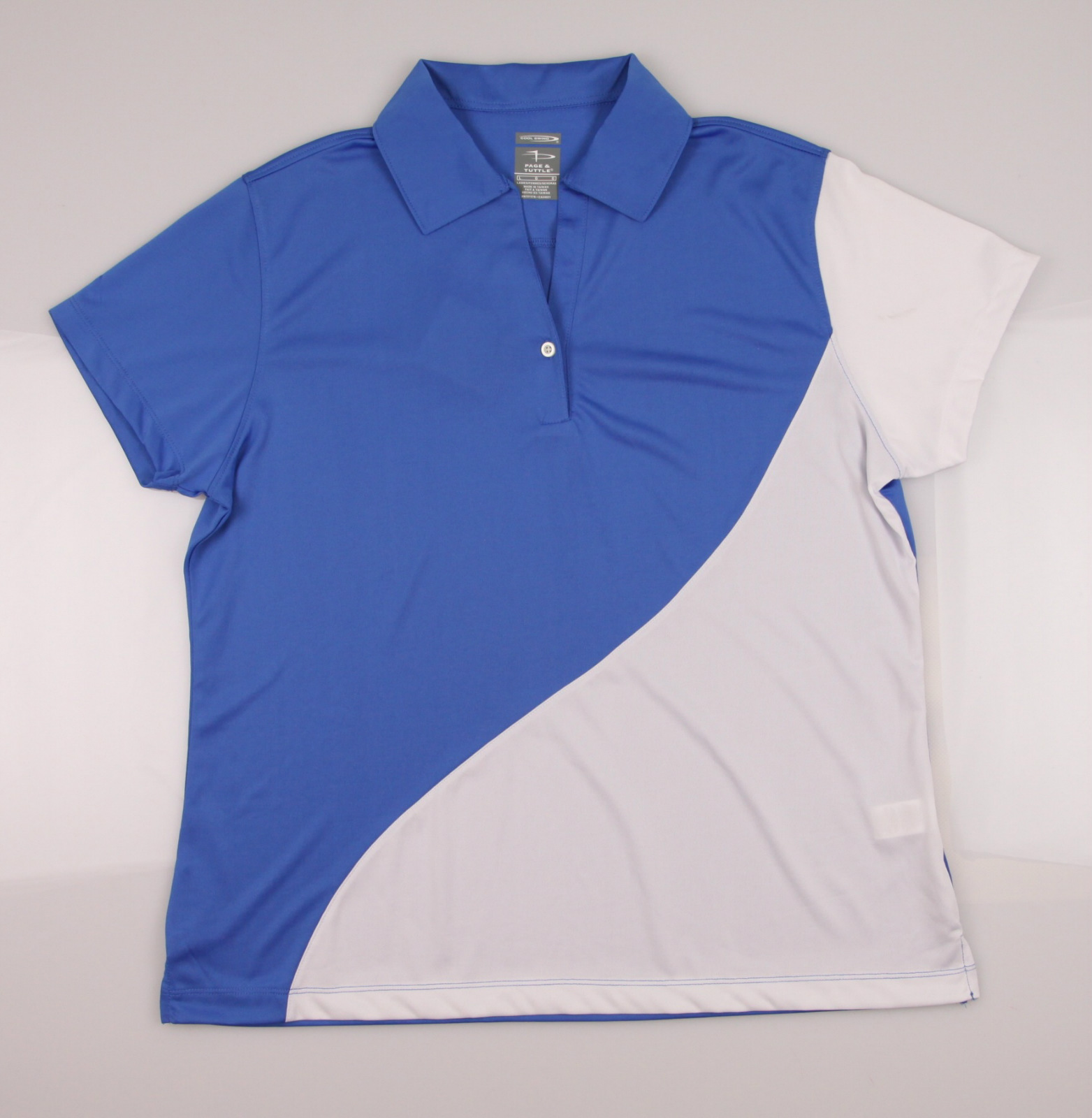 New Women 39 S Page Tuttle Cool Swing Performance Golf Polo