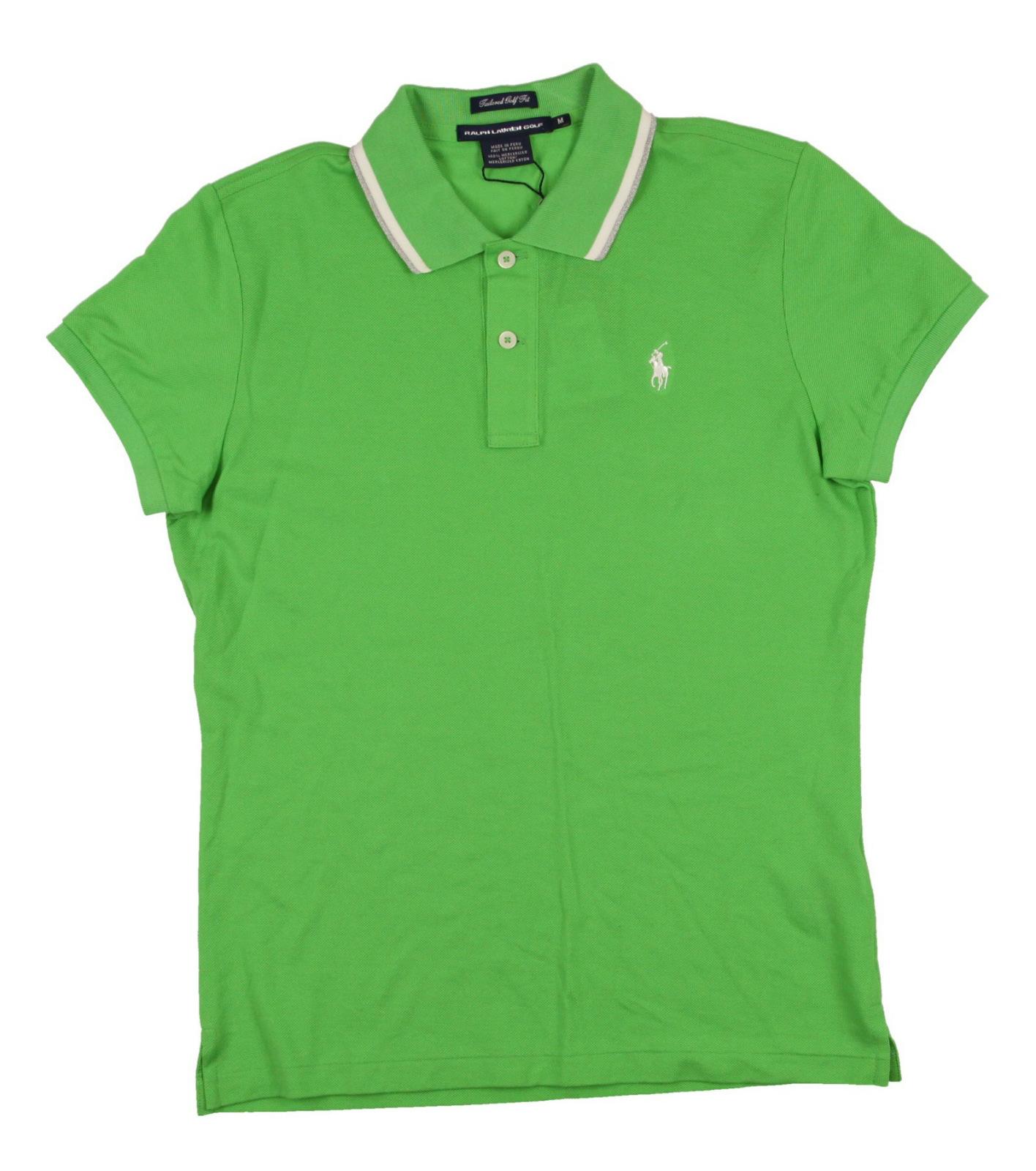 new women 39 s ralph lauren polo golf tailored fit ss golf. Black Bedroom Furniture Sets. Home Design Ideas