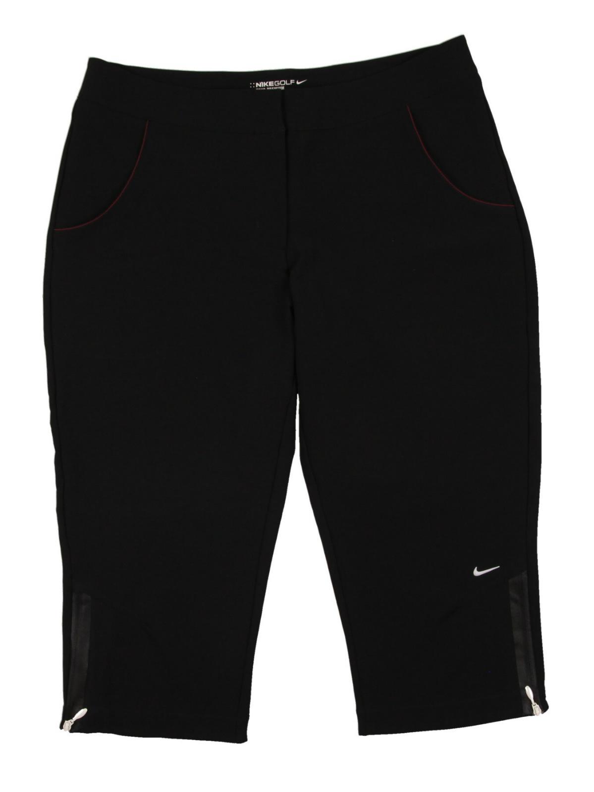 Perfect $110 New Nike Golf Womens Capris Long Slim Shorts Pants Crops 509313 060 SZ 2 | EBay