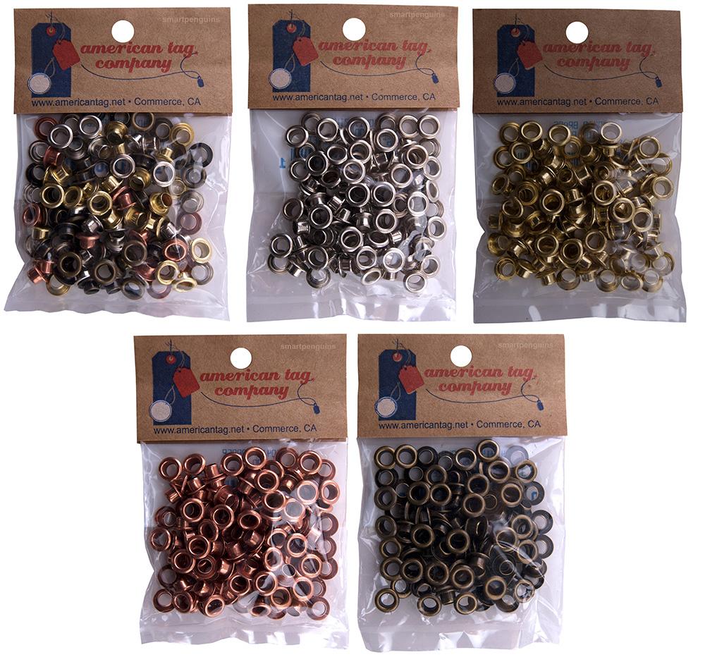 American Tag Eyelets 3 16 Paper Crafts Scrapbooking Choose Metallic