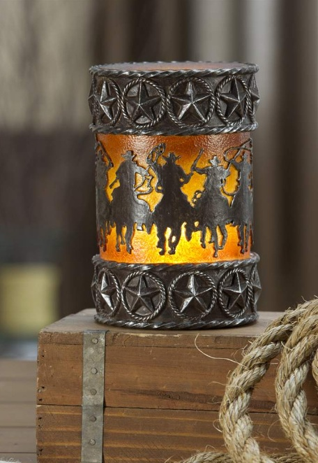 New Cowboy Horse Nightlight Lamp Home Decor Western
