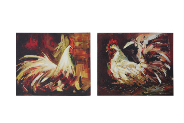 Pics Photos Country Rooster Kitchen Decor Cute Shelf Sitting Chicken