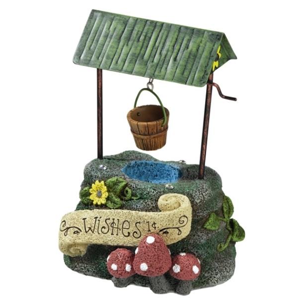 new whimsical fairy wishing water well mini garden decor, Garden idea