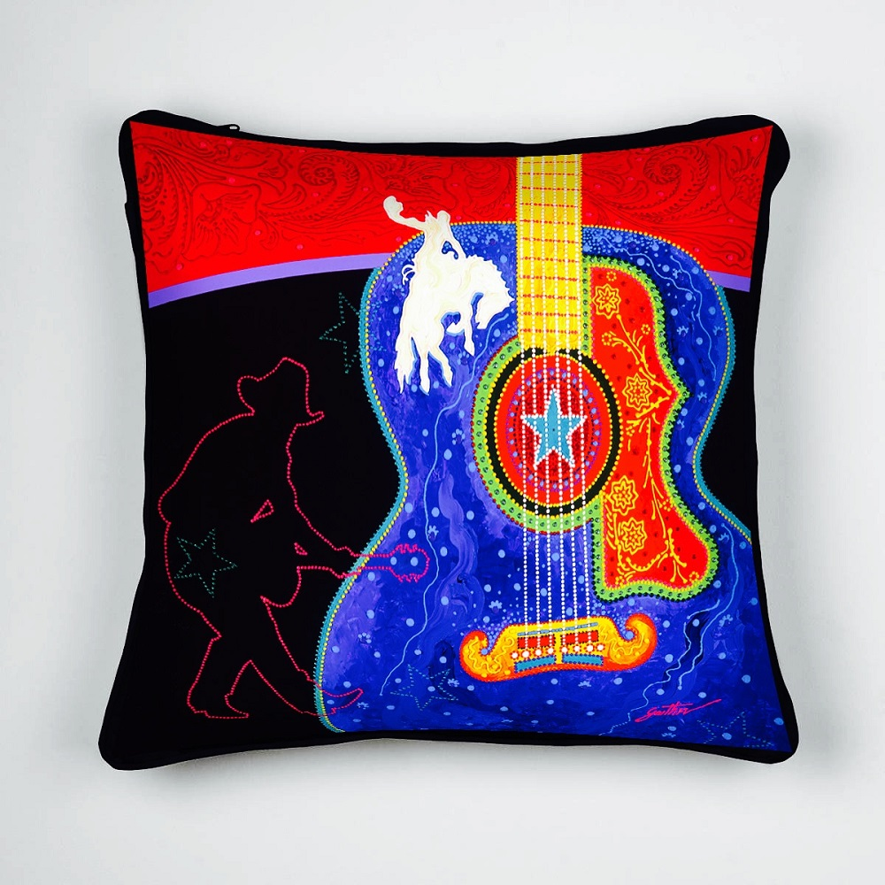 Rodeo Home Throw Pillow : 18