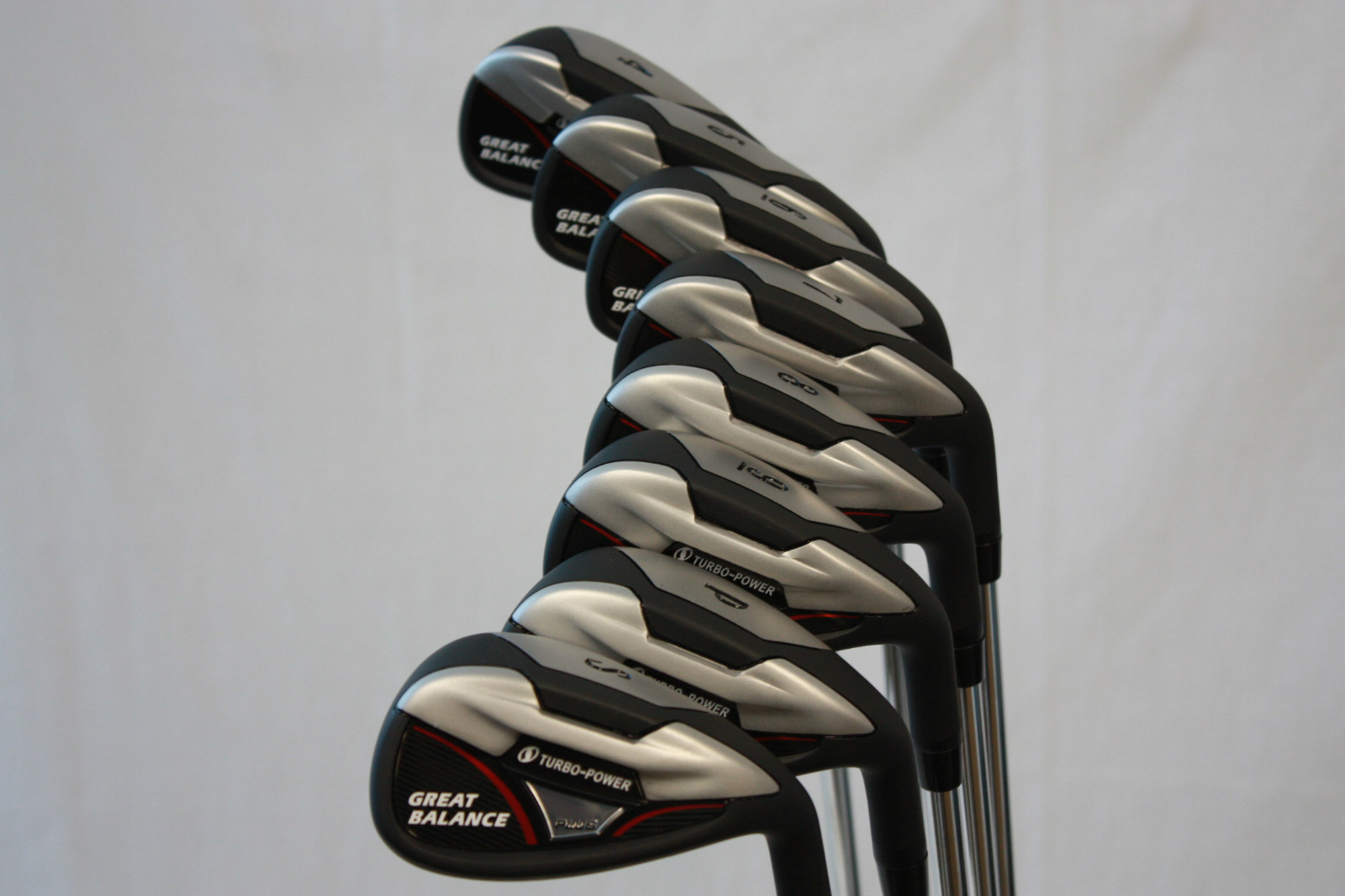 New Big Amp Tall 3 Mens All Black Golf Clubs Firm Flex
