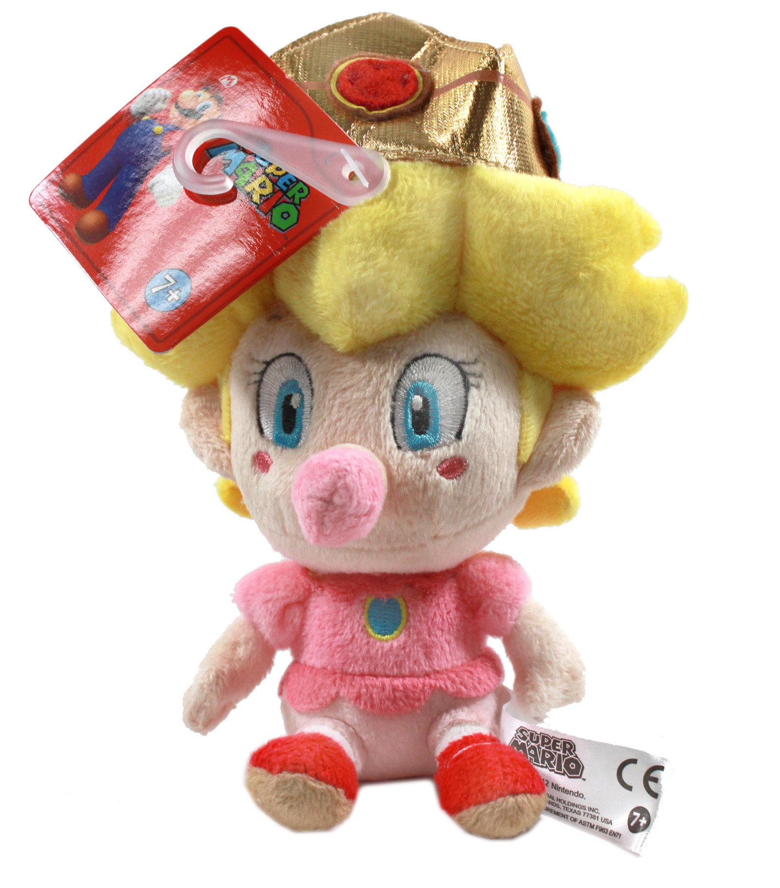 Real Little Buddy 1249 Super Mario 5 Baby Peach Plush Toy Doll