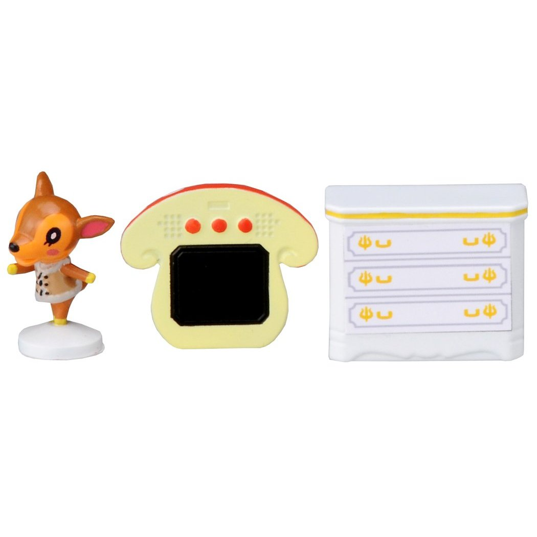 Real New Animal Crossing Fauna Character Stamp Figure Set 4904810490784 Ebay