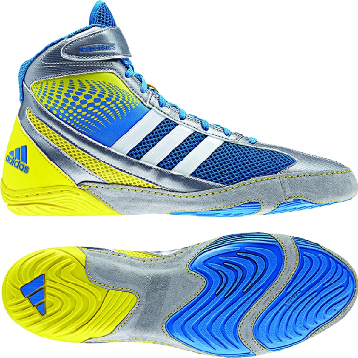 new product 8d560 9a77a Image is loading Adidas-Response-3-1-Men-039-s-Wrestling-