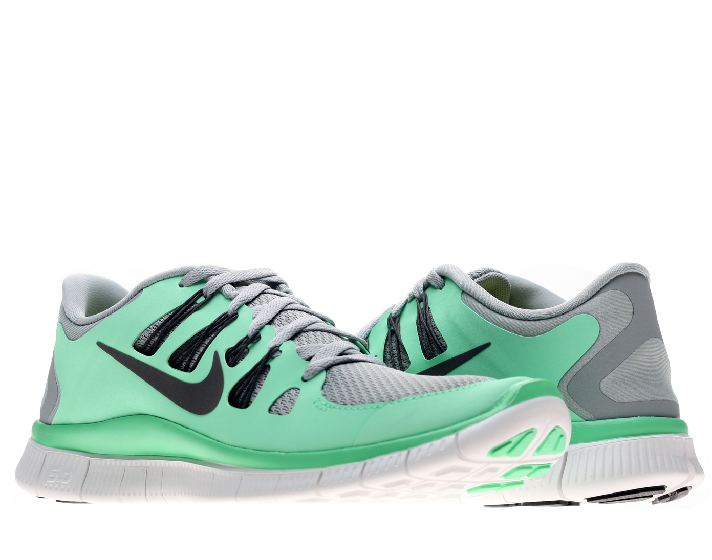 c65ea68023e5 ... womens nike free 5.0 mint green  grey .